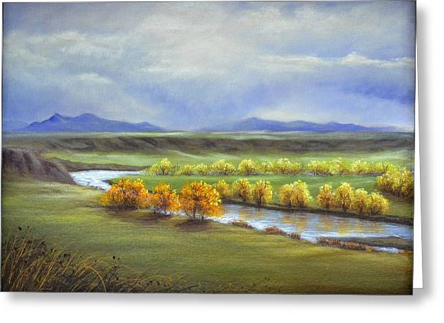 Missouri River At Fort Benton Greeting Card