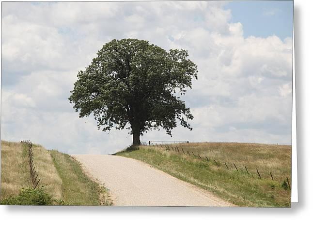 Missouri Road Greeting Card