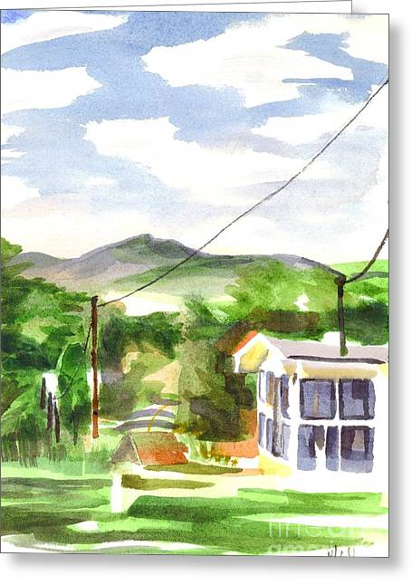 Missouri View II Greeting Card by Kip DeVore