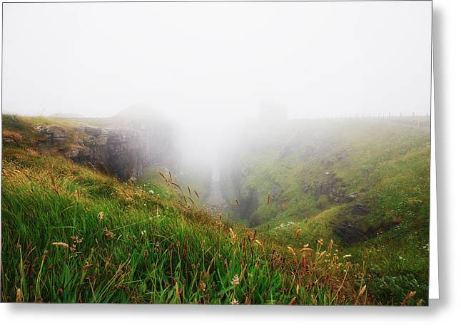 Greeting Card featuring the photograph Mist by Laura Melis