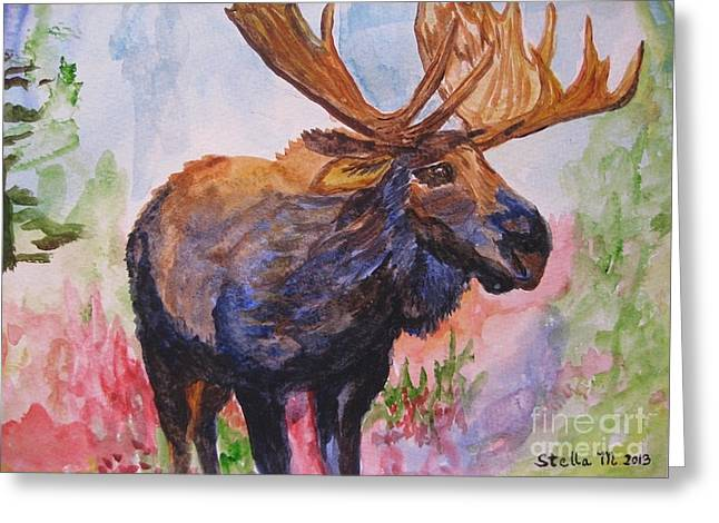 Mister Moose Greeting Card
