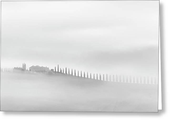 Mist(ery) Greeting Card