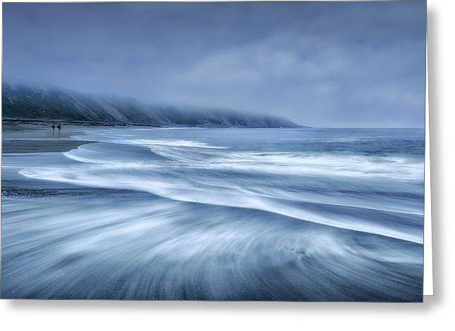 Mists In The Sea Greeting Card