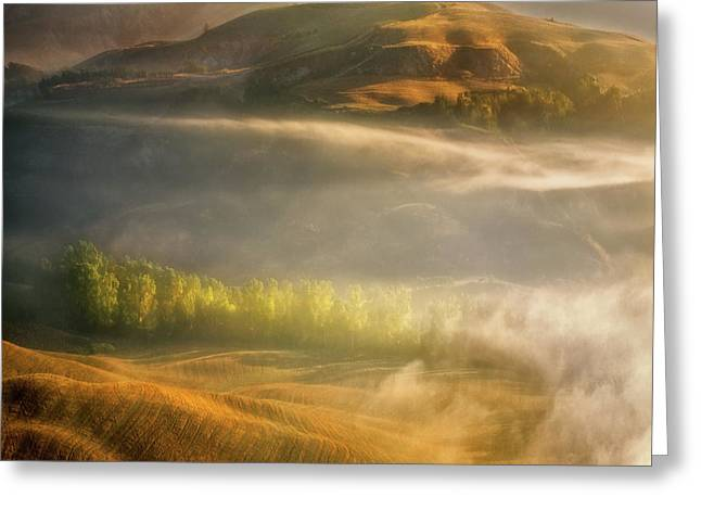 Mists... Greeting Card