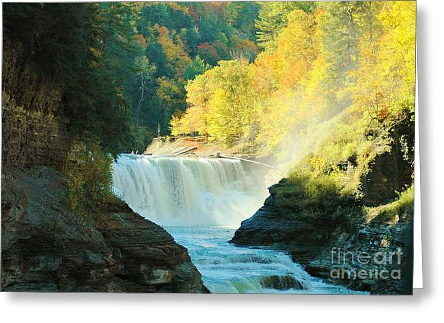 Misty 2 Greeting Card by Kathleen Struckle