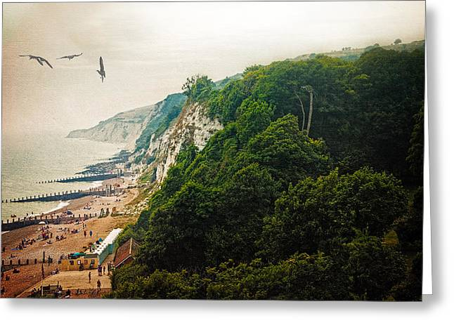 Misty Afternoon In Eastbourne Greeting Card by Chris Lord