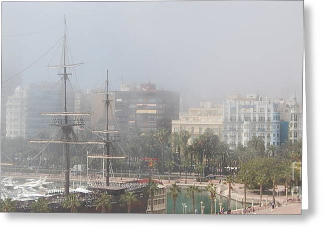 Misty Alicante Greeting Card