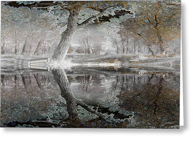 Misty Morn 1 Greeting Card by Stuart Turnbull