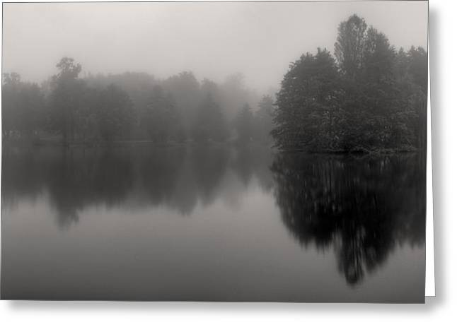 Misty Reflections Greeting Card by Patrick Jacquet