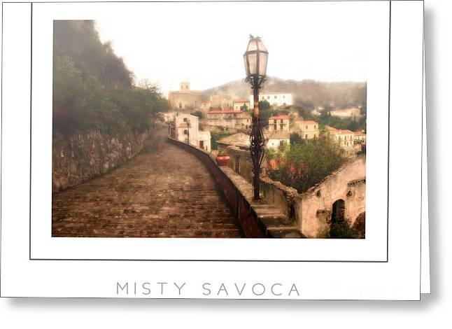 Misty Savoca Poster Greeting Card by Mike Nellums