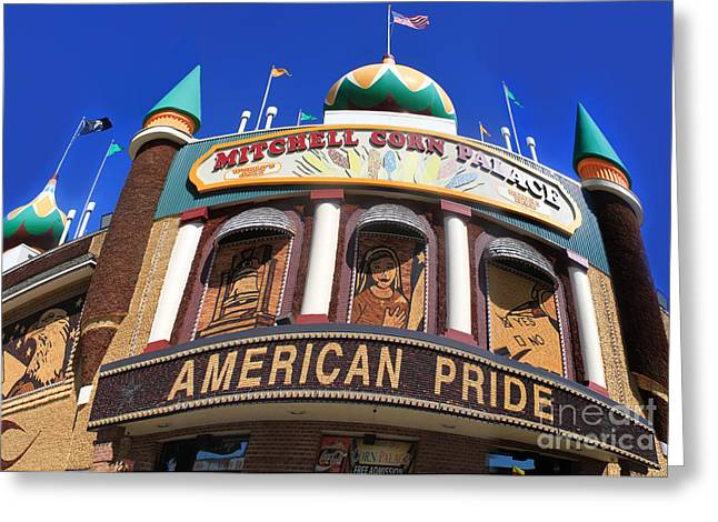 Mitchell Corn Palace - 01 Greeting Card by Gregory Dyer