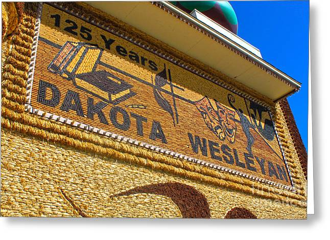 Mitchell Corn Palace - 04 Greeting Card by Gregory Dyer