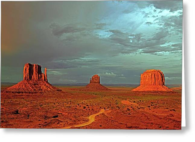 Mitten Buttes Greeting Card
