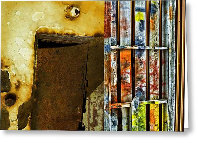 Mixed Elements Two Greeting Card