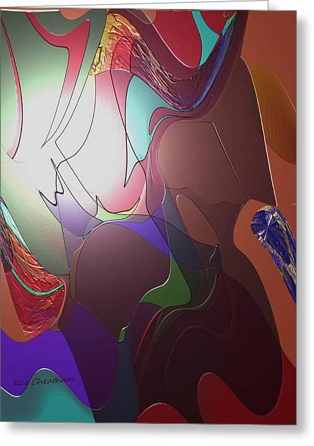 Mixup Abstract 14 Greeting Card