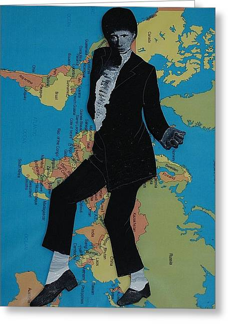 Mj Billie Jean Greeting Card