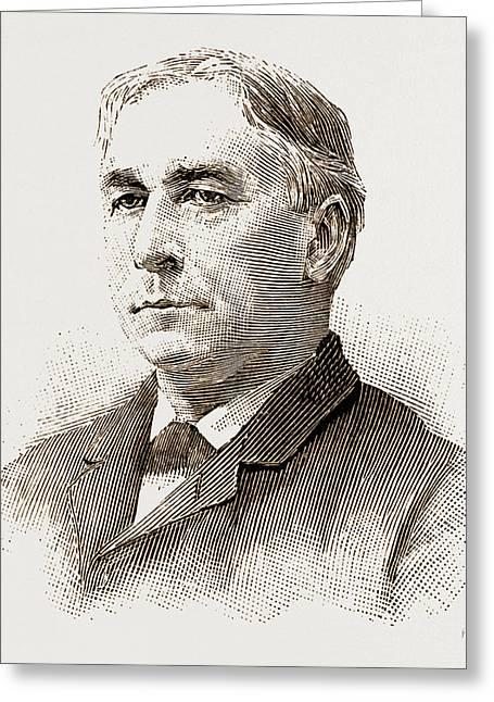 Mk. D. M. Dickenson Mr. Justice Putnam Mr. Chandlerp Greeting Card