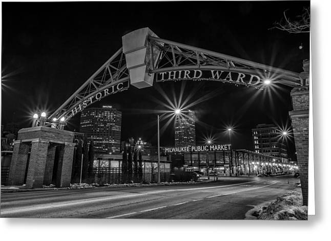 Mke Third Ward Greeting Card