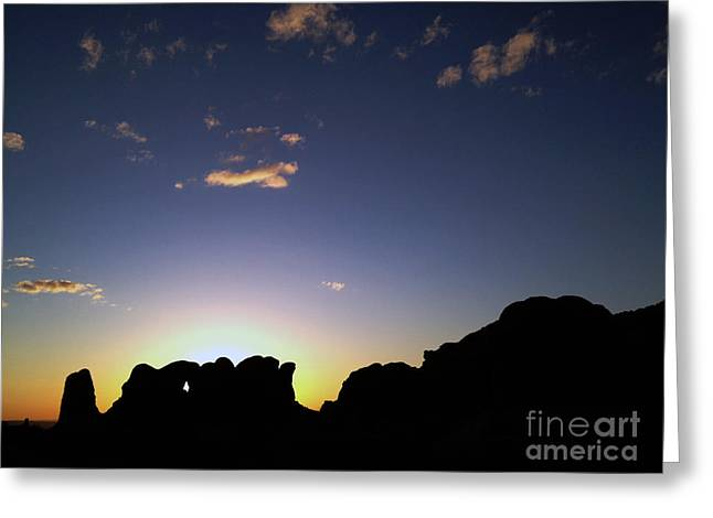 Moab Sunset Greeting Card