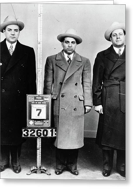 Mobsters, 1940 Greeting Card by Granger
