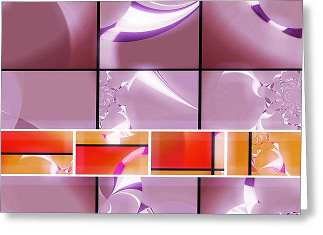 Mod 003 Greeting Card by Aurelio Zucco