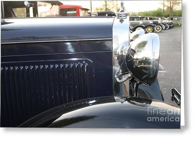 Model A Reflections Greeting Card by Connie Mueller