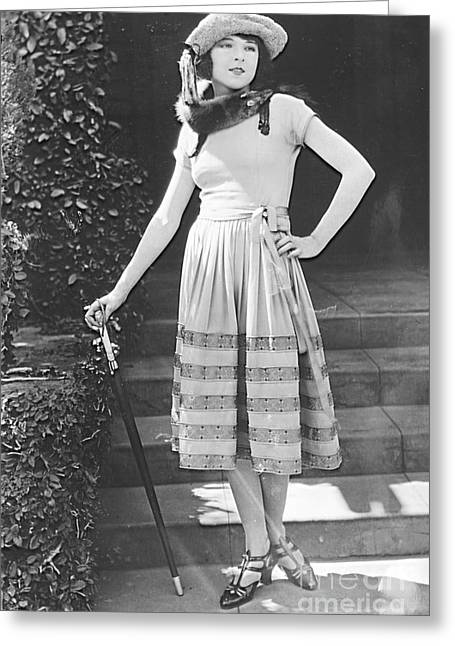 Model Colleen Moore Greeting Card