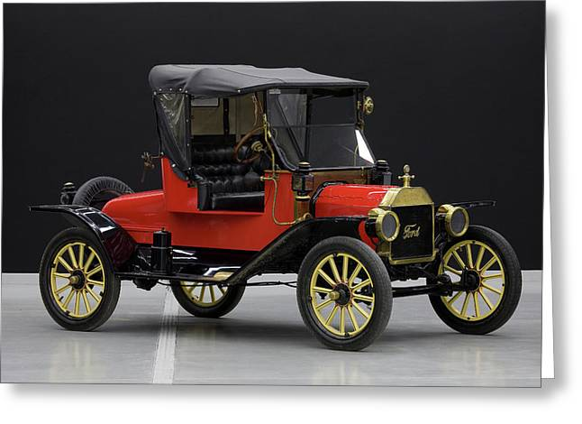 Model T Ford Greeting Card by Panoramic Images