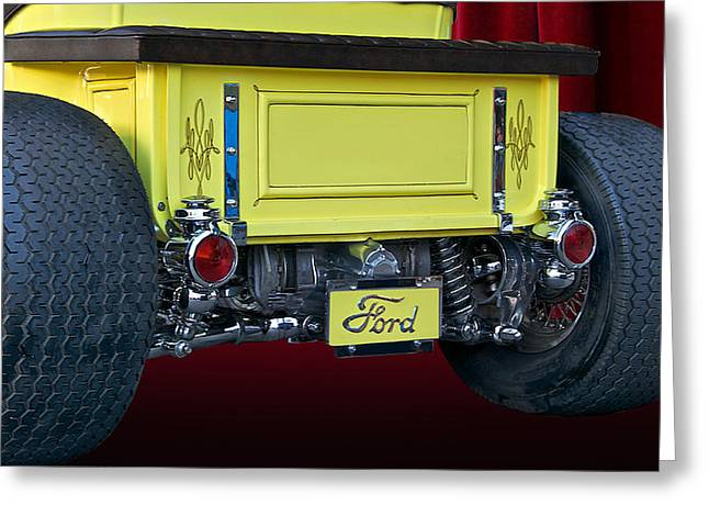 Model T Roadster Pick Up II Greeting Card by Dave Koontz
