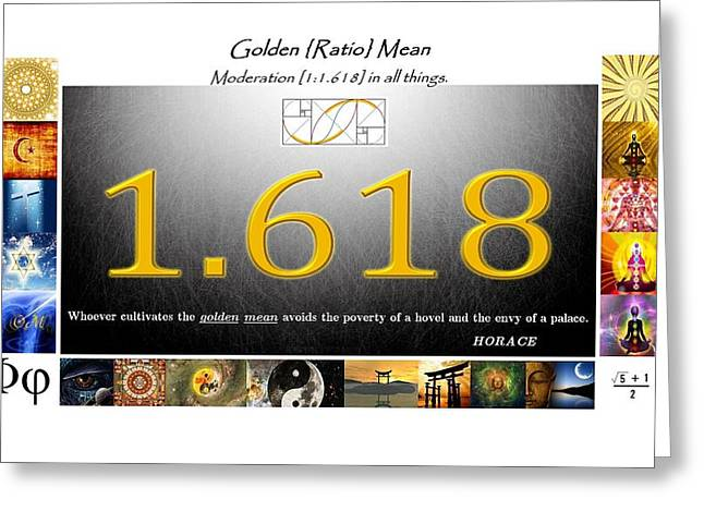 Moder8ing Greeting Card by Peter Hedding