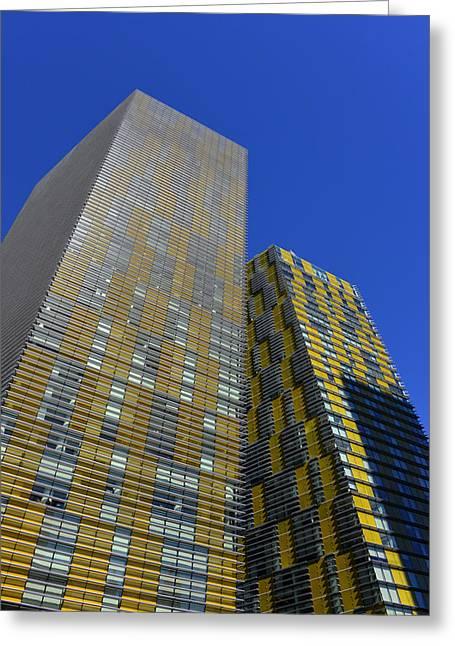 Modern Architecture Las Vegas Greeting Card