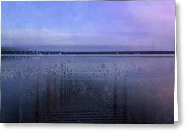 Modern-art Finland Beautiful Nature Greeting Card by Melanie Viola