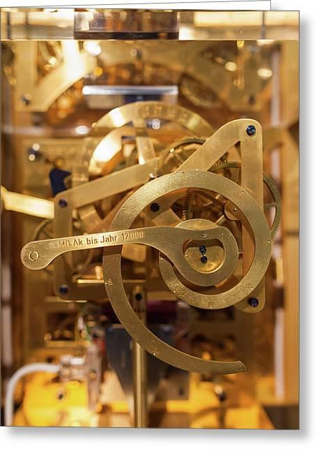 Modern Clock Mechanism, Furtwangen Im Greeting Card