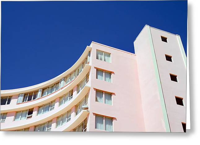 Greeting Card featuring the photograph Modern Curves by Keith Armstrong