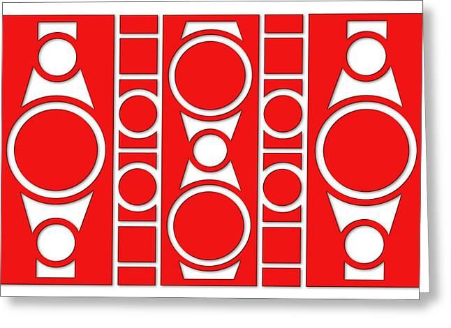 Modern Design I Greeting Card by Mike McGlothlen