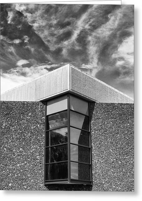 Modern Museum II Palm Springs Art Museum Greeting Card by William Dey