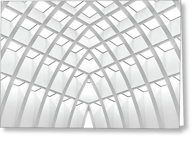 Modern Patterns Greeting Card