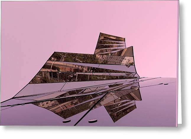 Modern Reflections ... Greeting Card by Juergen Weiss