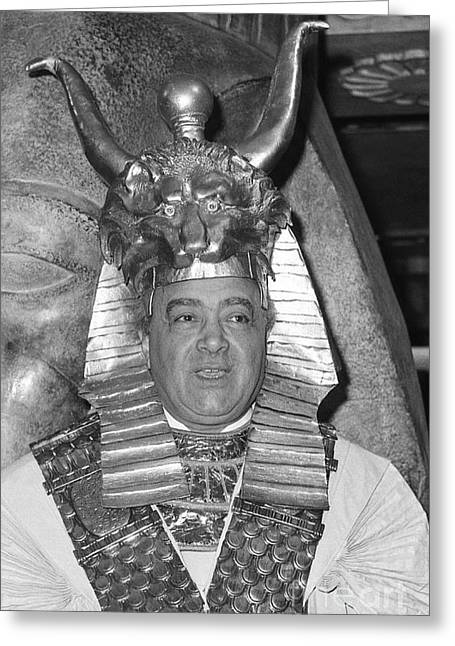 Mohamed Al Fayed Greeting Card
