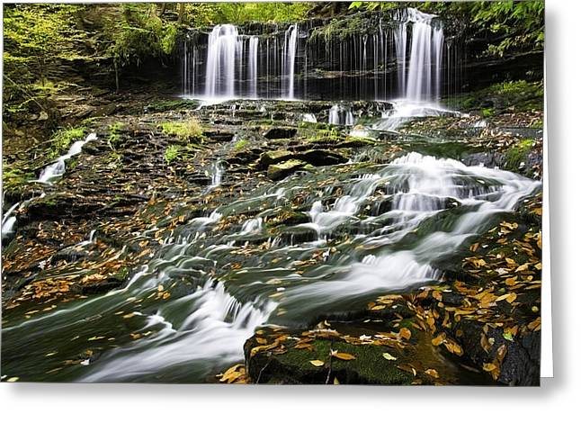 Mohawk Falls 1 Greeting Card