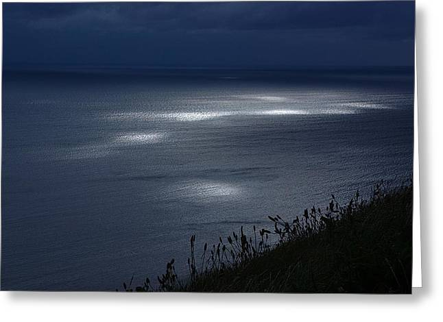 Moher Light Dance Greeting Card