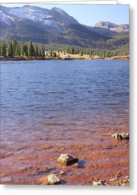 Molas Lake Greeting Card by Eric Glaser