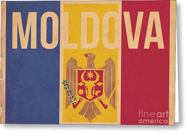 Moldova Greeting Card by Megan