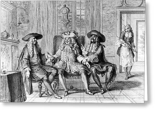 Moliere: Play, 1670 Greeting Card