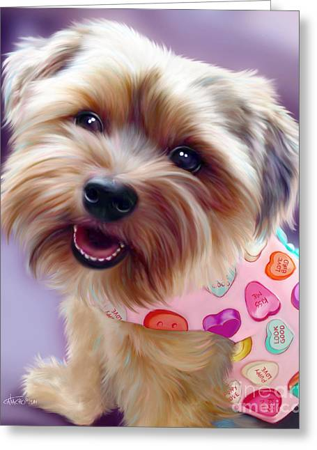 Molli Greeting Card