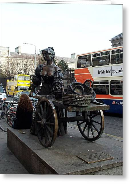 Greeting Card featuring the photograph Molly Malone by Barbara McDevitt