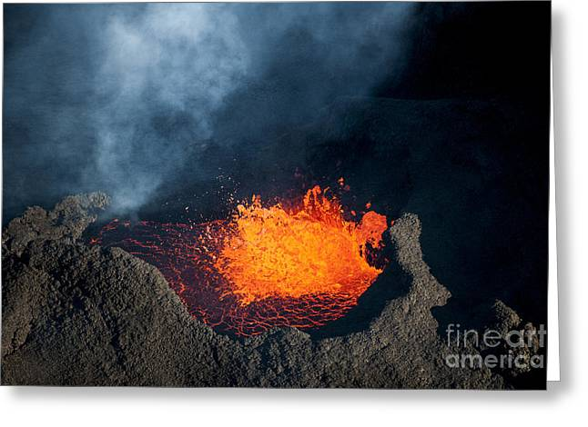 Molten Greeting Card by Timm Chapman
