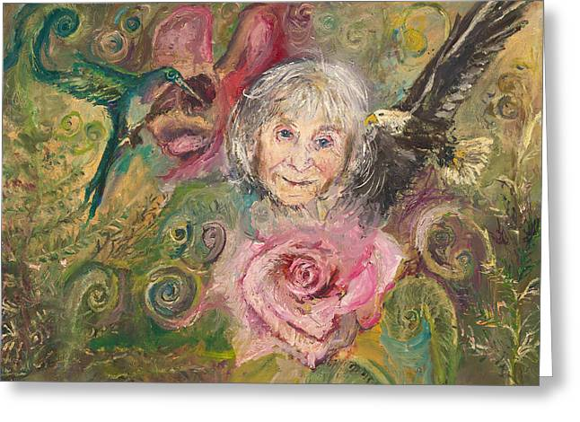 Mom Jeanne Greeting Card