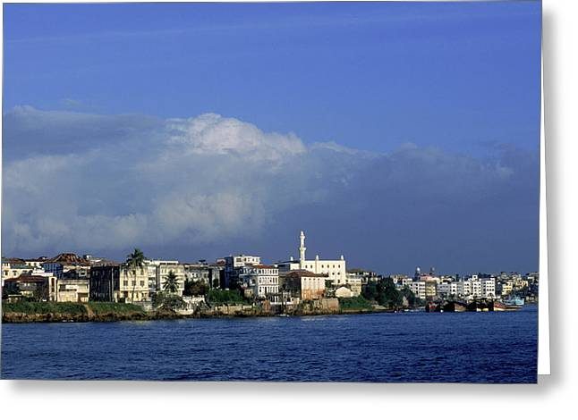 Mombasa, Kenya Greeting Card