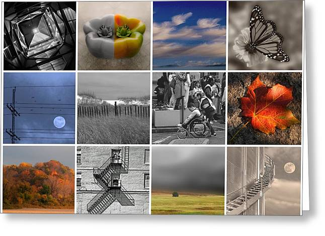 Moments In Time Greeting Card
